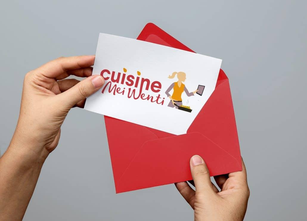 Cr ation de logo pour cuisine meiwenti for Apprendre cuisine chinoise