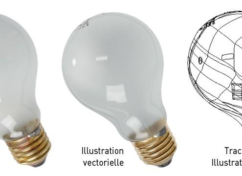 tion Vectorielle Photorealiste