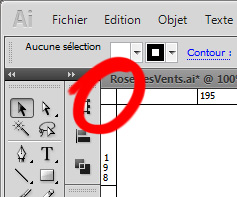 Tutoriel Illustrator réglage du point d'origine