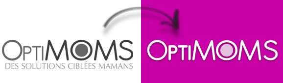 Refonte de logotype pour Optimoms.fr