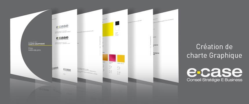 Création de charte graphique ecase