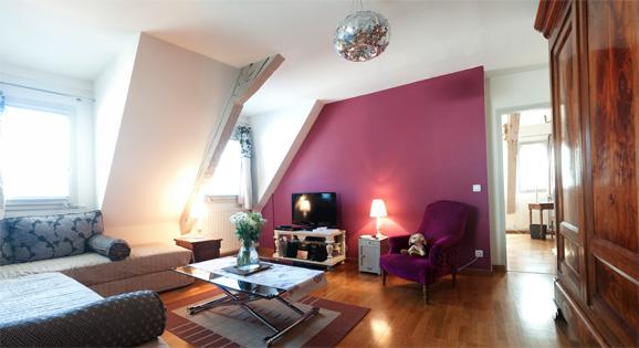 Photo panoramique Gîtes de charme - Salon