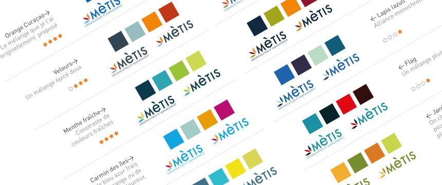 Création de logo et de charte graphique metis 03