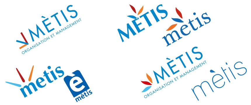 Création de logo et de charte graphique metis 04