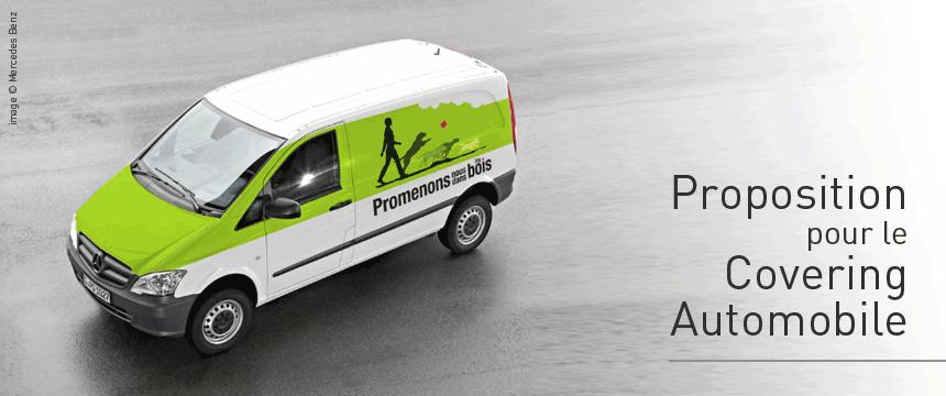 Covering automobile charte graphique PNDB