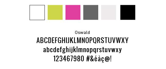 Choix et personnalisation de couleur