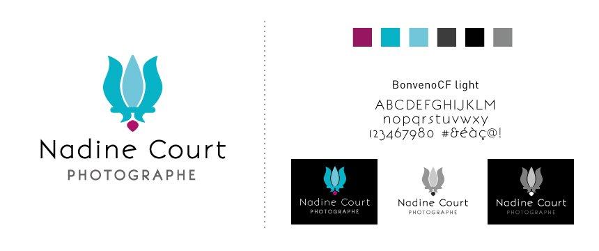 Nouveau Logo Nadine court-photographe