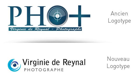 Création de logotype pour photographe professionnelle