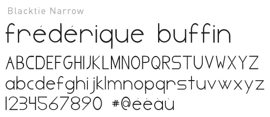 Font Blacktie