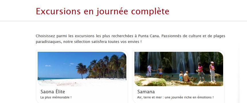 Refonte site internet wordpress concept tours