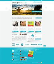 Home page création thème Christine Lewicki
