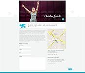 landing Page création thème Christine Lewicki