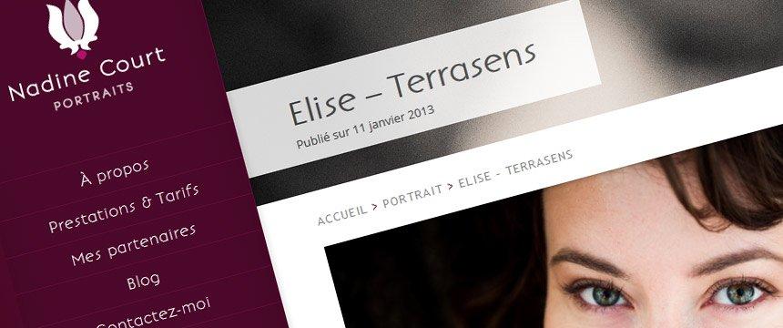 Site-wordpress professionnel photographe