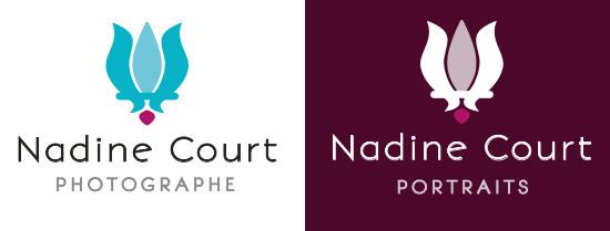 Refonte du logo de Nadine Court