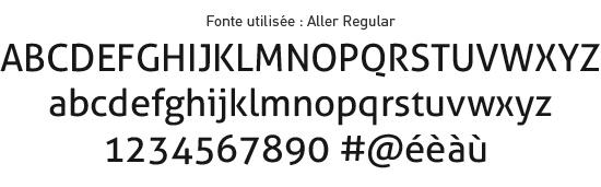Choix de typographie