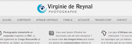 Création de site internet wordpress logo et charte graphique pour Virginie de reynal
