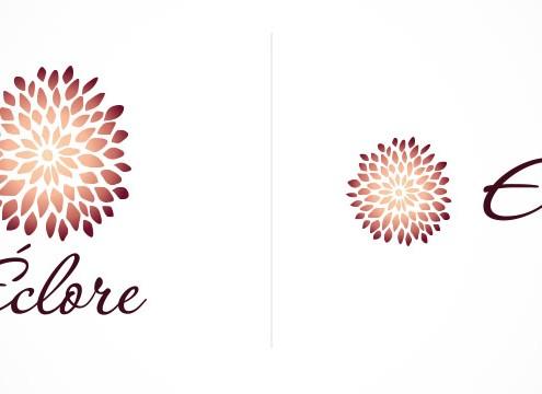 création logo éclore