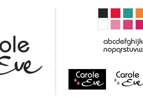 Création de logo Carole eve 01