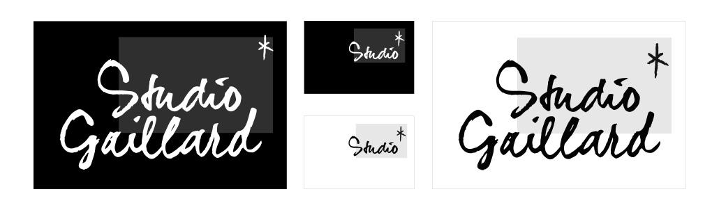 Création de logo Ben & aurore - ma version préférée