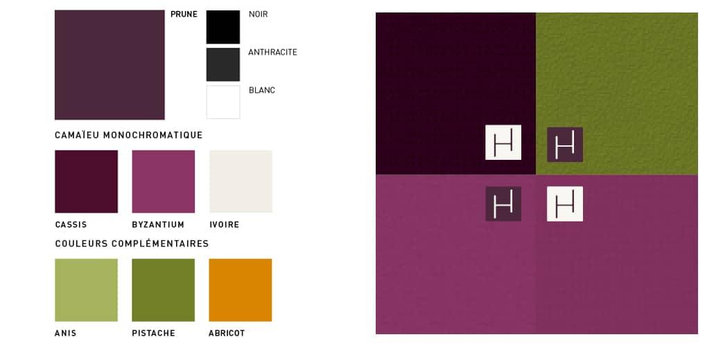 Recherches colorimétriques Helianthème