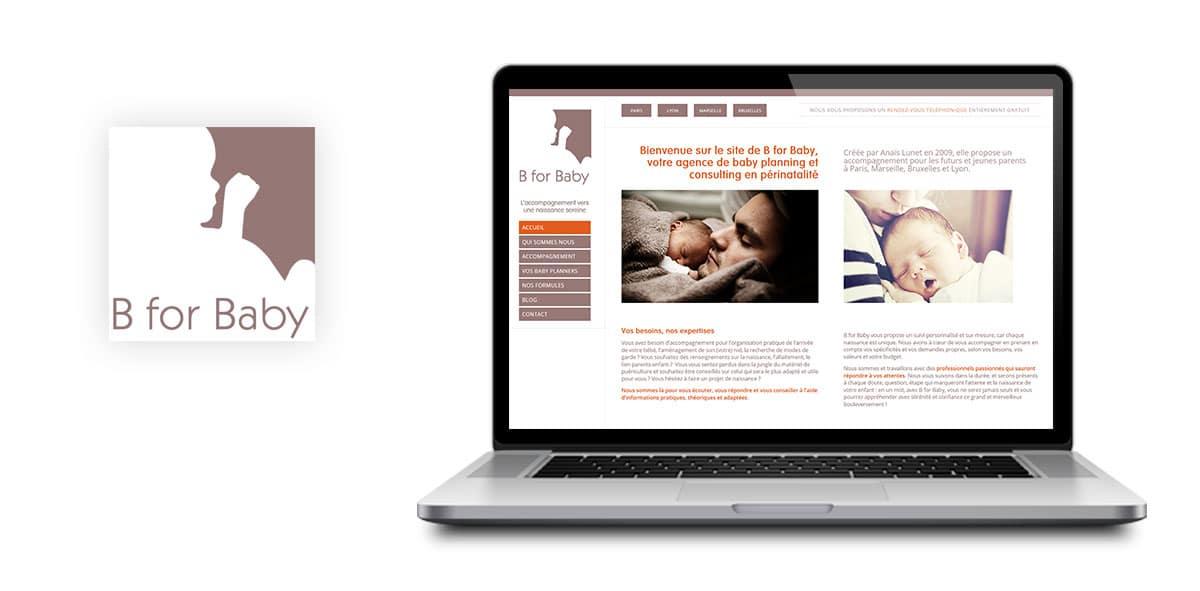 Refonte wordpress site b for baby