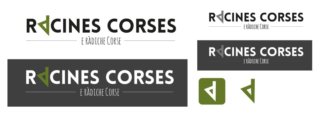 Création de logo racine corses