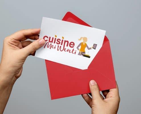 cuisine mei went création logo