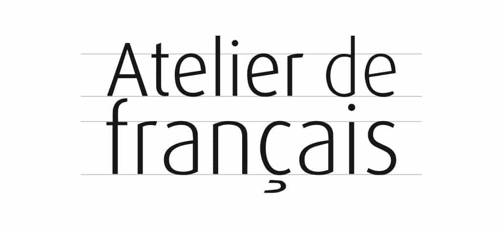 Création de logo Atelier de Français 02