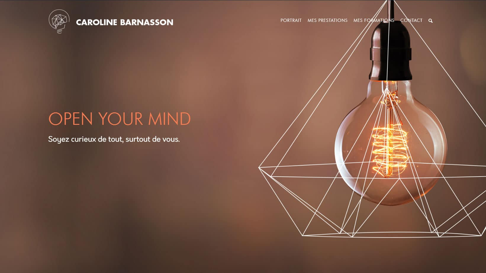 Caroline Barnasson nouveau site WordPRess