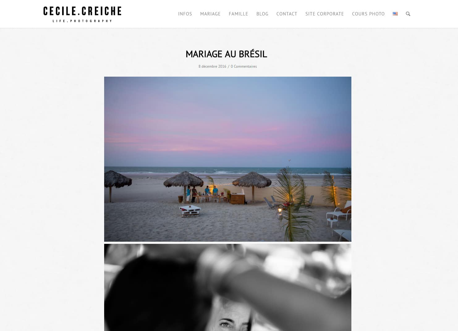 Création site wordpress photograhe