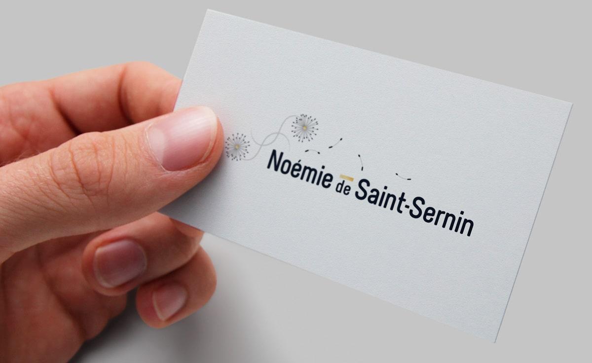 Création de logo Coach personnelle-Noemie de Saint Sernin