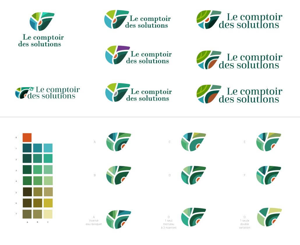 Version création de logo originale entreprise