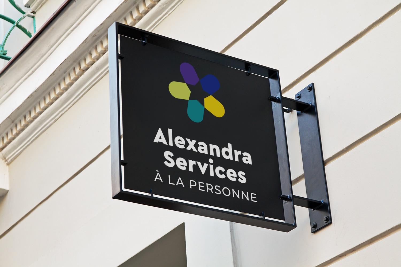 Création de logo prestation de service