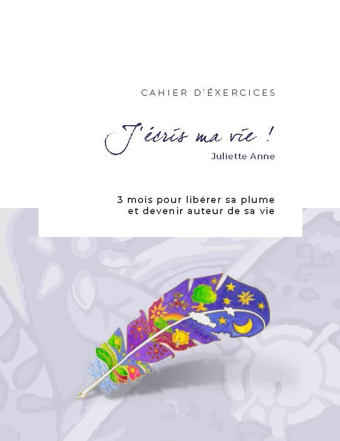 Cahier écriture Juliette Anne publication