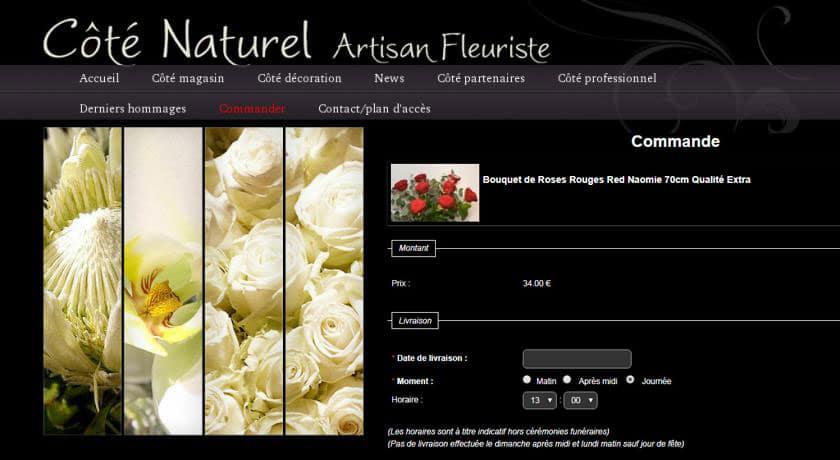 Fleuriste Chambéry ancien site